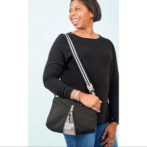 Work Hard Play Hard Crossbody Bag